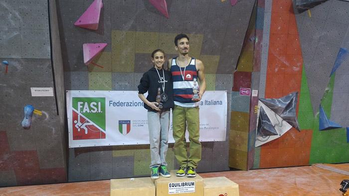 Campionato Italiano Boulder, Marchionne, Rogora
