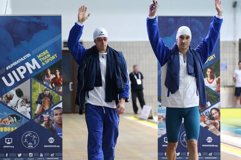 Mondiali Pentahlon 2016, staffetta maschile nuoto