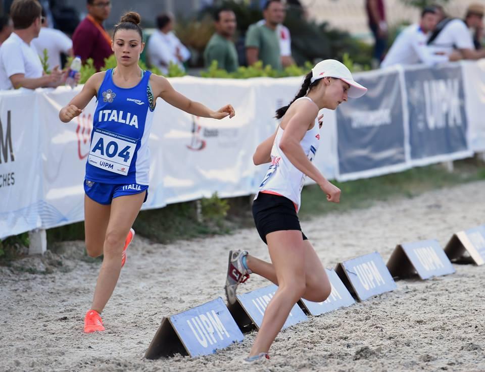 Prampolini in azione, World Cup Pentathlon 2017
