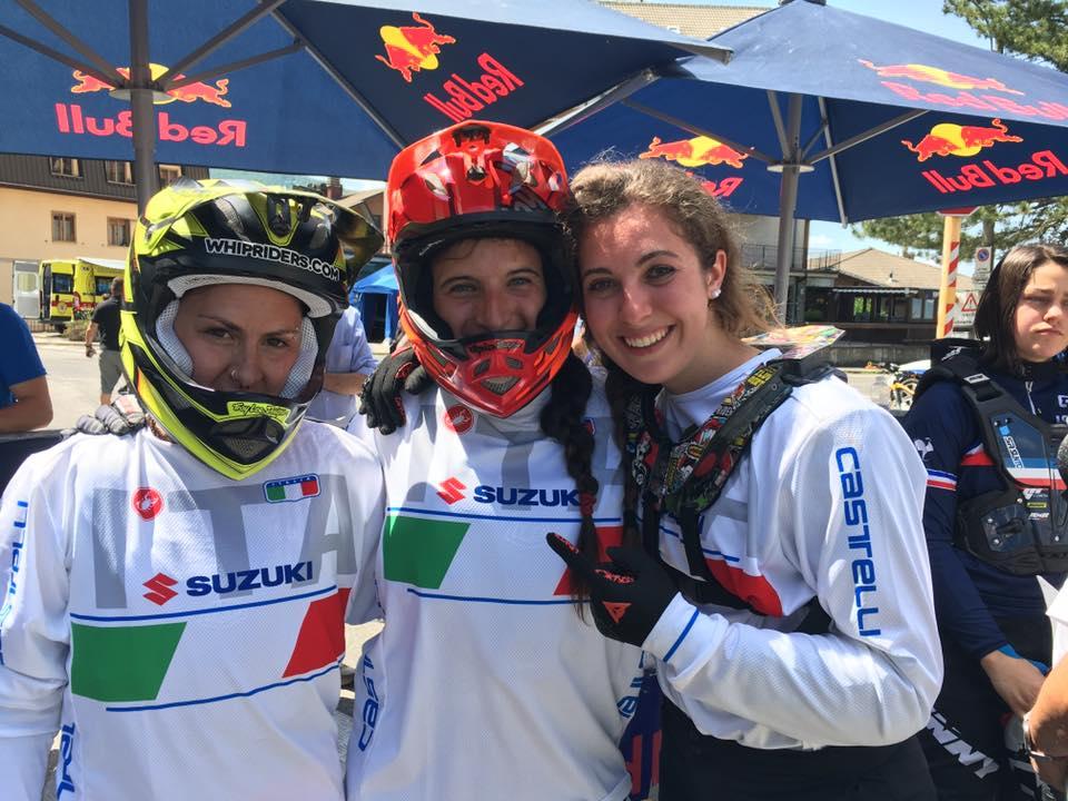 Farina Migliorini, Europei Downhill
