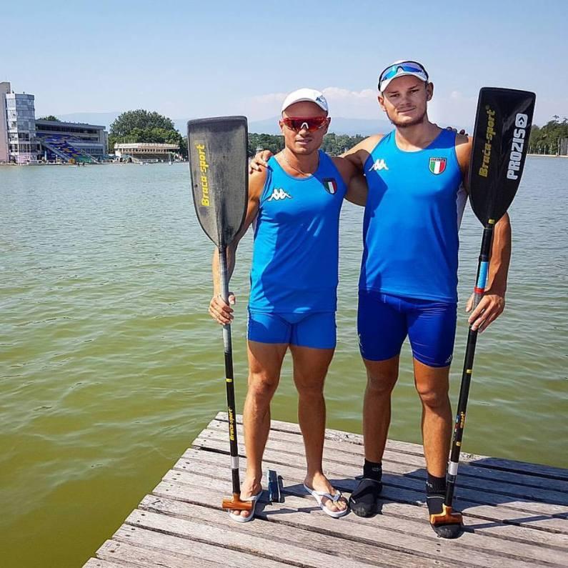Minsk2019 Canoa: Nicolae Craciun regala un argento all'Italia