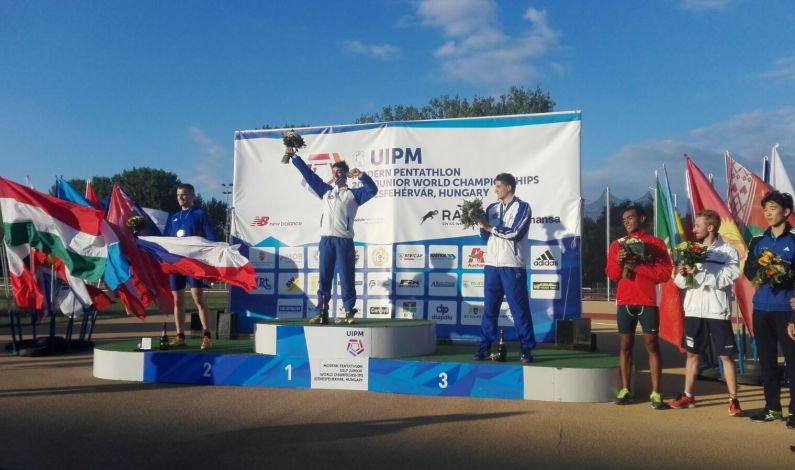Storico titolo mondiale Pentathlon Junior per Daniele Colasanti