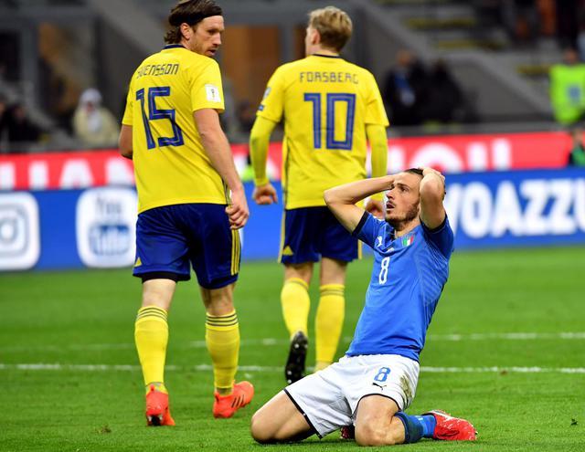 Italia Svezia, il fallimento del calcio è i fallimento del sistema Paese