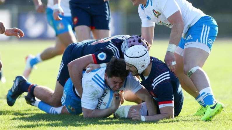 Nazionale U20 di Rugby, sconfitta pesante contro i pari età francesi