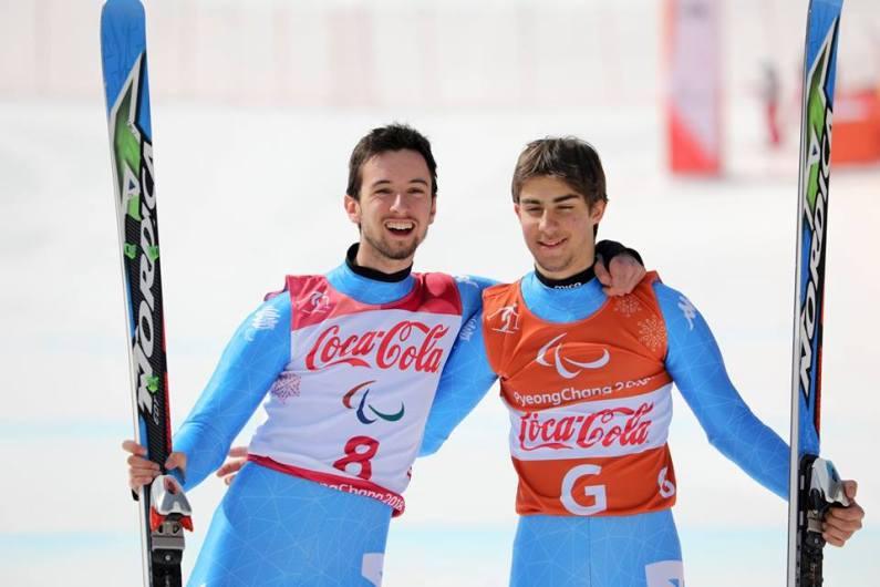 PyeongChang 2018: argento nel Super G per la coppia Bertagnolli e Casal