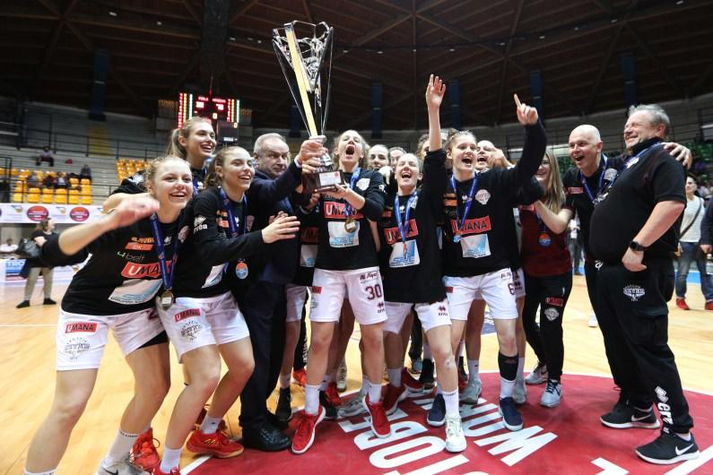 Umana Reyer Venezia Campione d'Italia U20 femminile