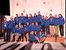Coppa Europa giovanile Speed e Lead, Italia da.. 11 e lode