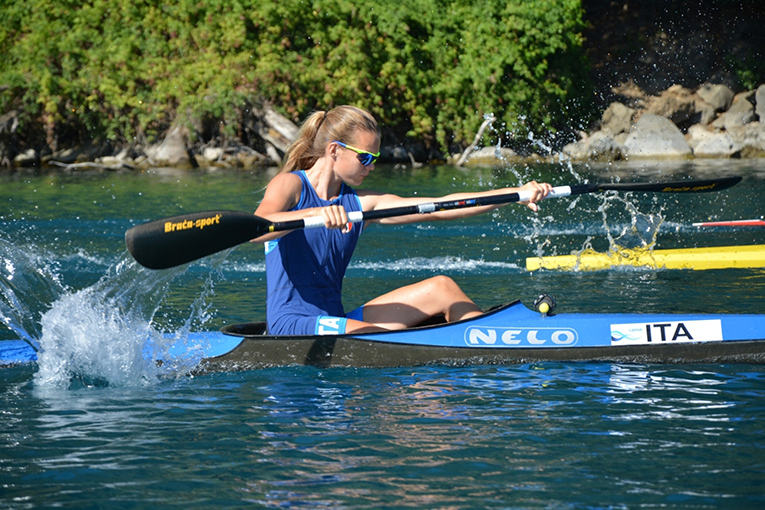 Youth Olympic Game, Lucrezia Zironi nel K1 F conquista il pass