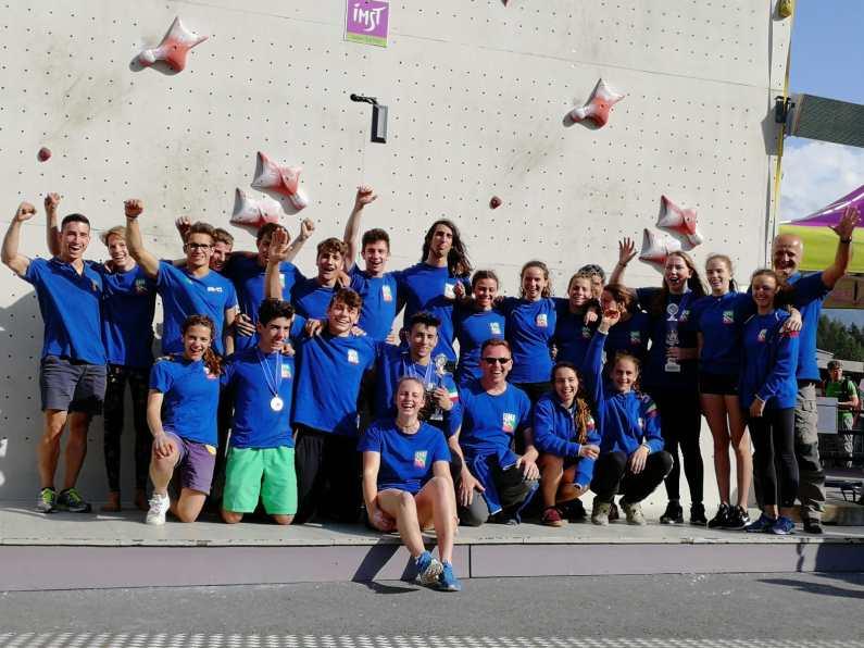 Europei giovanili di arrampicata, oro per Anna Calanca e Andrea Zappini