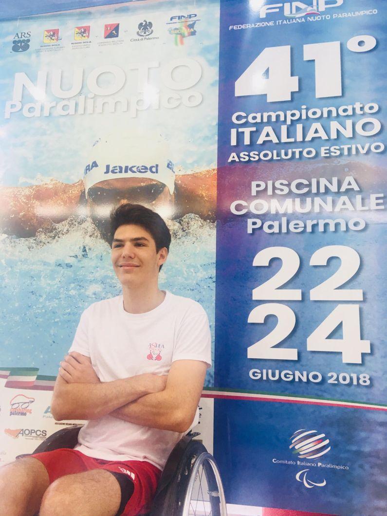 """Record del Mondo di Antonio Fantin nei 50 stile libero crono di 31""""65"""