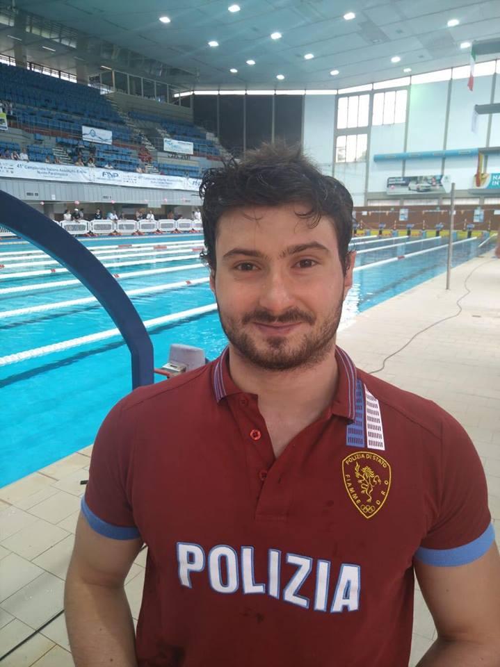 Tricolori Nuoto Paralimpico, record del Mondo di Francesco Bocciardo