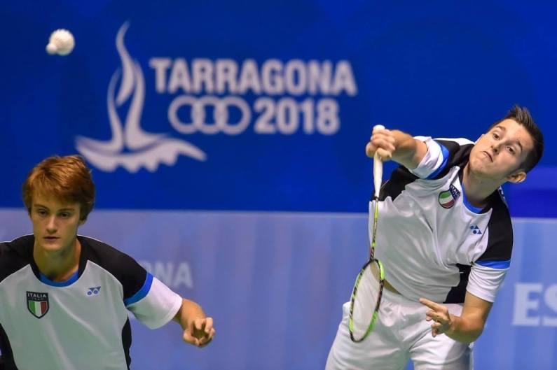Lukas Osele e Kevin Strobl nella storia del badminton azzurro