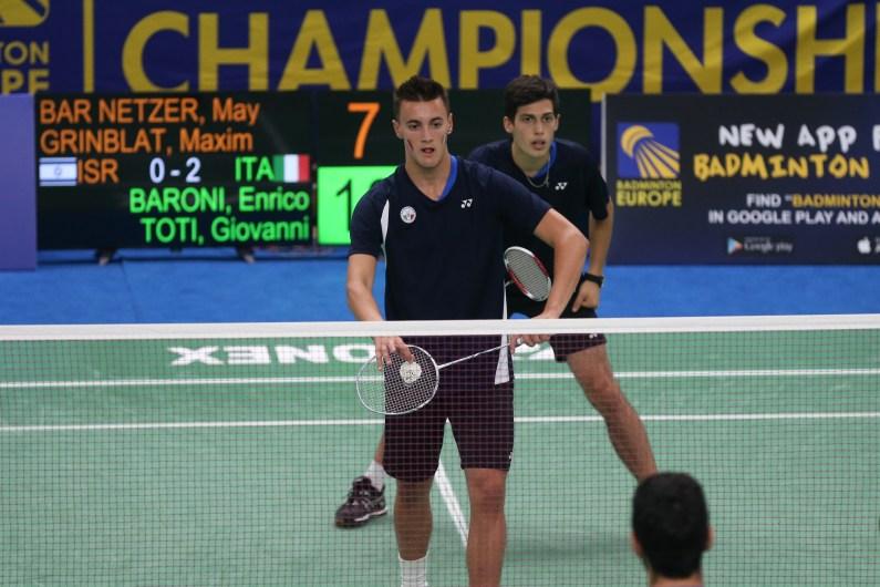 European Junior Championships, finisce agli ottavi l'avventura degli azzurri