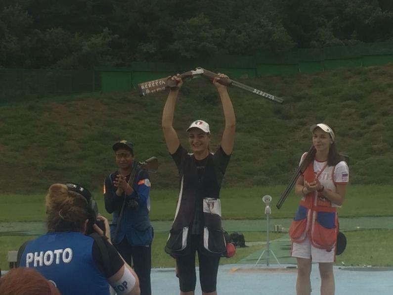 Mondiali Tiro a Volo – Erica Sessa Campionessa del Mondo Junior nel Trap