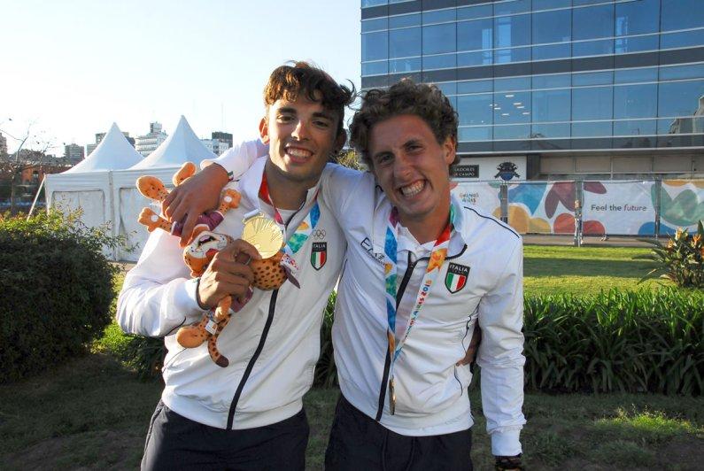 YOG 2018 – Alberto Zamariola e Nicolas Castelnovo oro a Buenos Aires