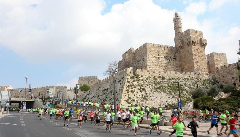 Maratona di Gerusalemme 2019, terra meravigliosa