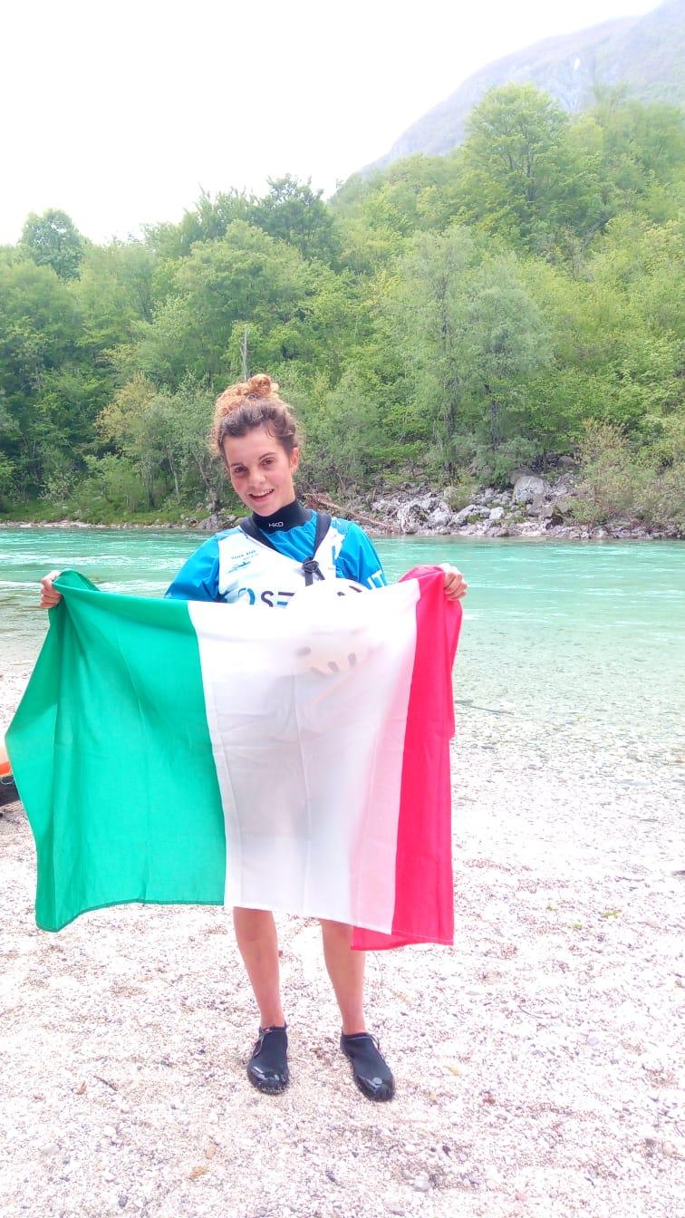 Europei canoa discesa, Cecilia Panato è subito vittoria!