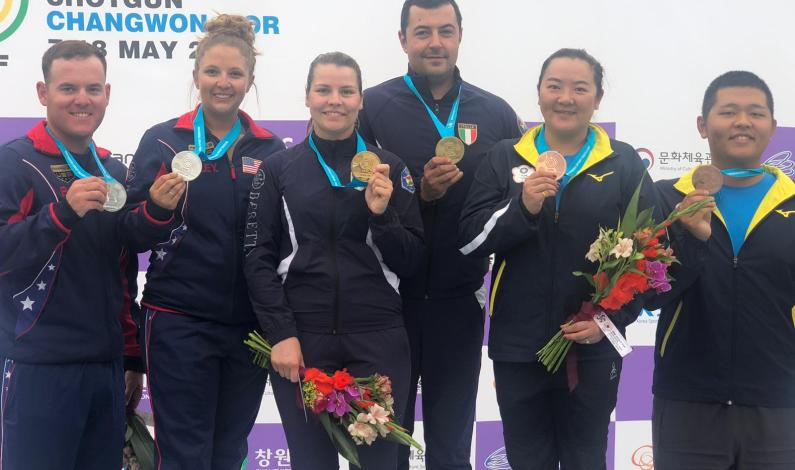 CDM Fossa Olimpica: Silvana Stanco e Daniele Resca oro nel Mixed Team