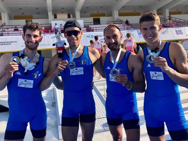 Coppa del Mondo Canottaggio a Poznan un oro nel quattro di coppia pl