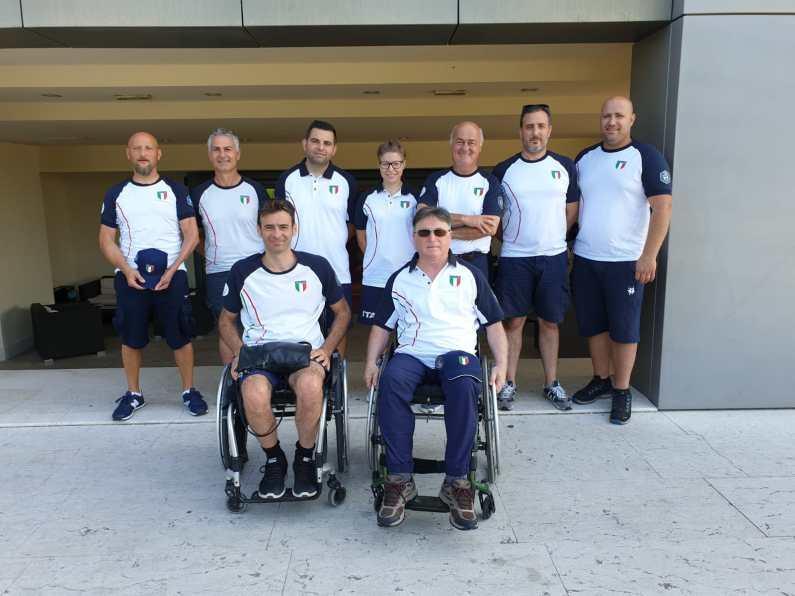 La Nazionale di Para-Trap ad Osijek per la Coppa del Mondo