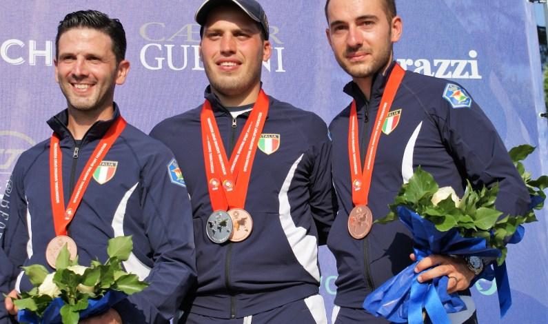Mondiale Skeet 2019 a Lonato: argento per Cassandro, bronzo di squadra