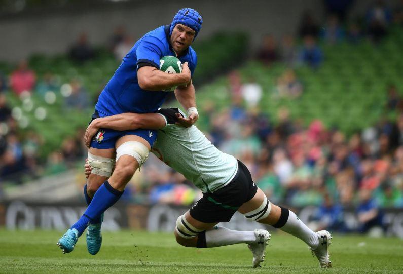 Test Match Rugby – L'Italia dura solo metà tempo contro l'Irlanda (29-10)