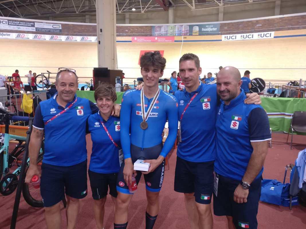Mondiali ciclismo pista juniores