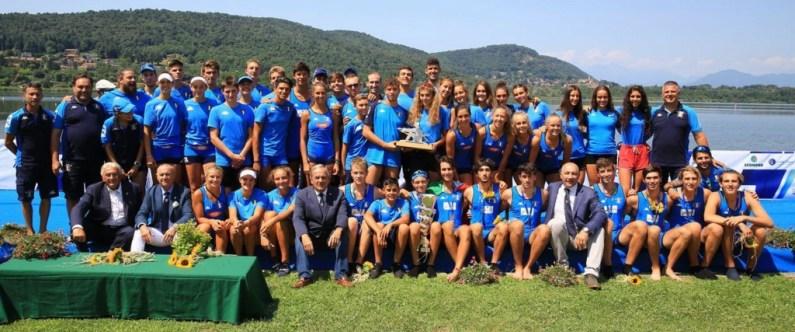 Coupe de la Jeunesse 2019 – Italia prima con 16 medaglie