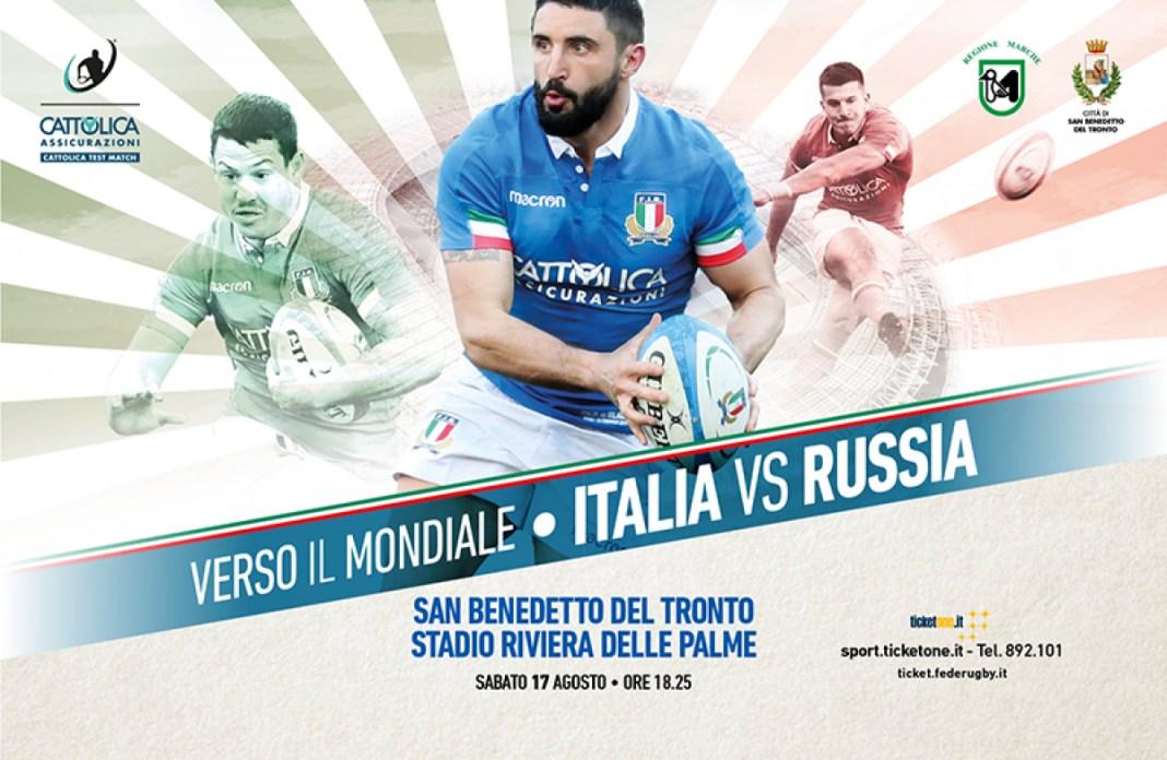 Cattolica Test Match Italia v Russia