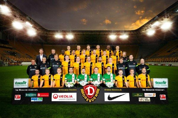 Team SG Dynamo Dresden - Foto: Dynamo Dresden/Darrelmann