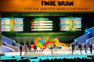 Fußball-WM 2014: Final Draw for the 2014 FIFA World Cup Brazil at Costa do Sauipe Resort on December 6, 2013 in Costa do Sauipe, Bahia, Brazil - Photo by Buda Mendes - Getty Images