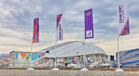 """Die Eröffnung der Olympischen Winterspiele in Sotchi 2014 findet im """"Fisht"""" Olympic Stadium statt - Foto: Sochi 2014 Olympic Winter Games"""