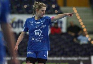 """WM-All-Star und Torschützenkönigin Susann Müller gewinnt die Wahl zur """"Handballerin des Jahres 2013"""" in Deutschland - Foto: Sebastian Brauner, Sportsnine"""