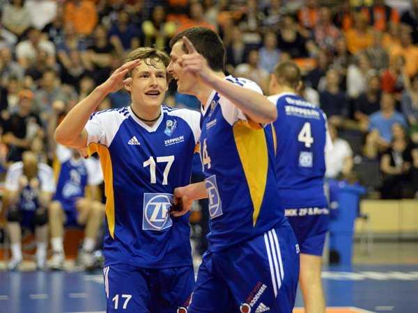 Volleyball-Finale: Überraschungsmoment im Spiel: VfB-Zuspieler Jan Zimmermann behielt die Nerven - Foto: VfB Friedrichshafen