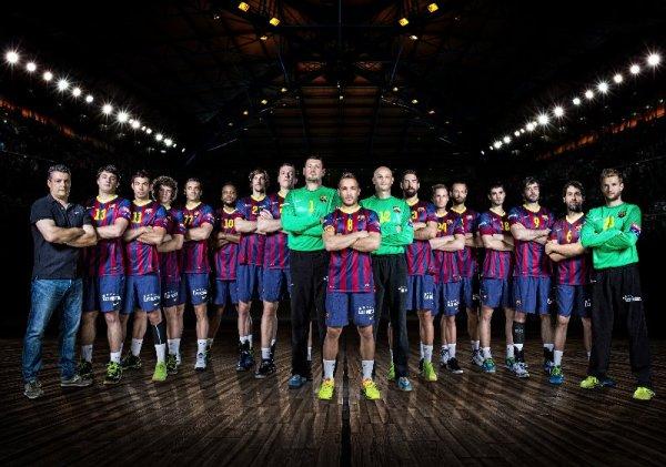 Handball: VELUX EHF Champions League Final4 2013/14 in Köln - FC Barcelona - Foto: EHF Media