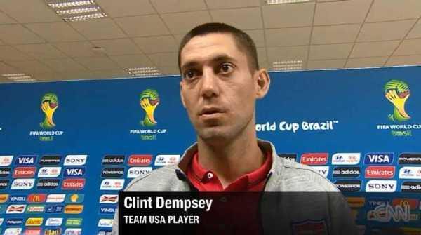 CNN International: Clint Dempsey - Fußball-Hype in den USA – die Spieler-Interviews nach dem Deutschland-Match  und vor dem Achtelfinale gegen Belgien - Foto: CNN International