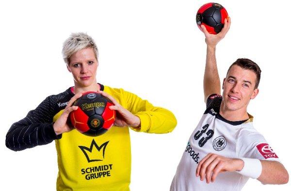 Handball Live: DHB - Handball-Finals exklusiv aus Magdeburg - Clara Woltering und Dominik Klein - Foto: DHB/Sascha Klahn