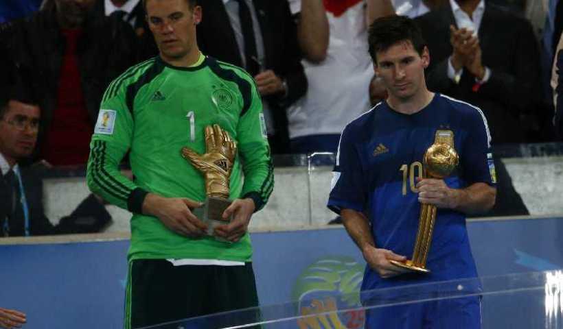 Fußball FIFA WM 2014: Lionel Messi, James Rodriguez und Manuel Neuer sind die besten WM-Fußballer 8