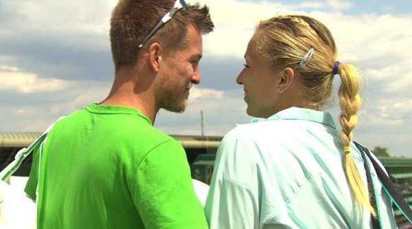 """Martin Emmrich und Michaella Krajicek - CNN International """"Open Court"""": Novak Djokovic und die neuen Champions von Wimbledon - Foto: CNN International"""