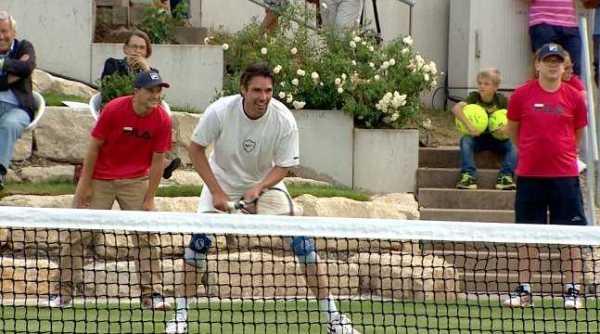 """Olympiasieger Michael Stich - CNN International """"Open Court"""": Novak Djokovic und die neuen Champions von Wimbledon - Foto: CNN International"""