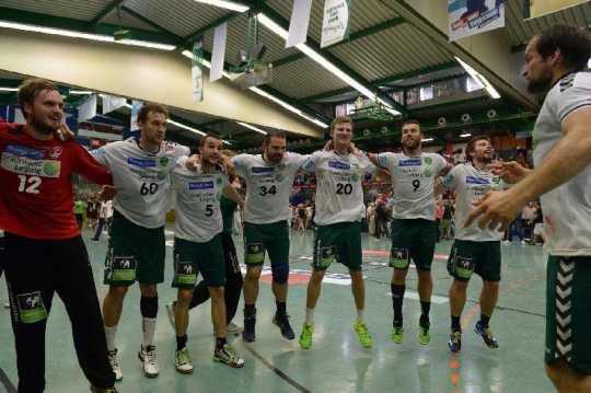 SC DHfK Leipzig gewinnt spannendes Sachsen-Derby in Aue - Foto: Rainer Justen