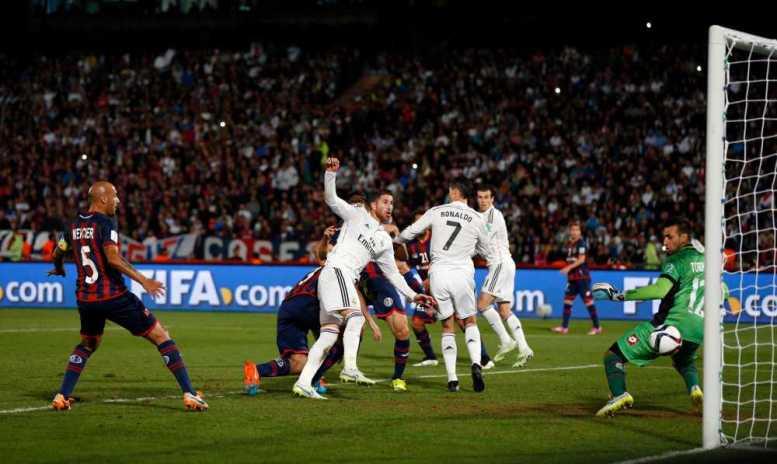 FIFA Club World Cup Marokko 2014: Real Madrid mit dem 1:0 - Foto: Steve Bardens/Getty Images