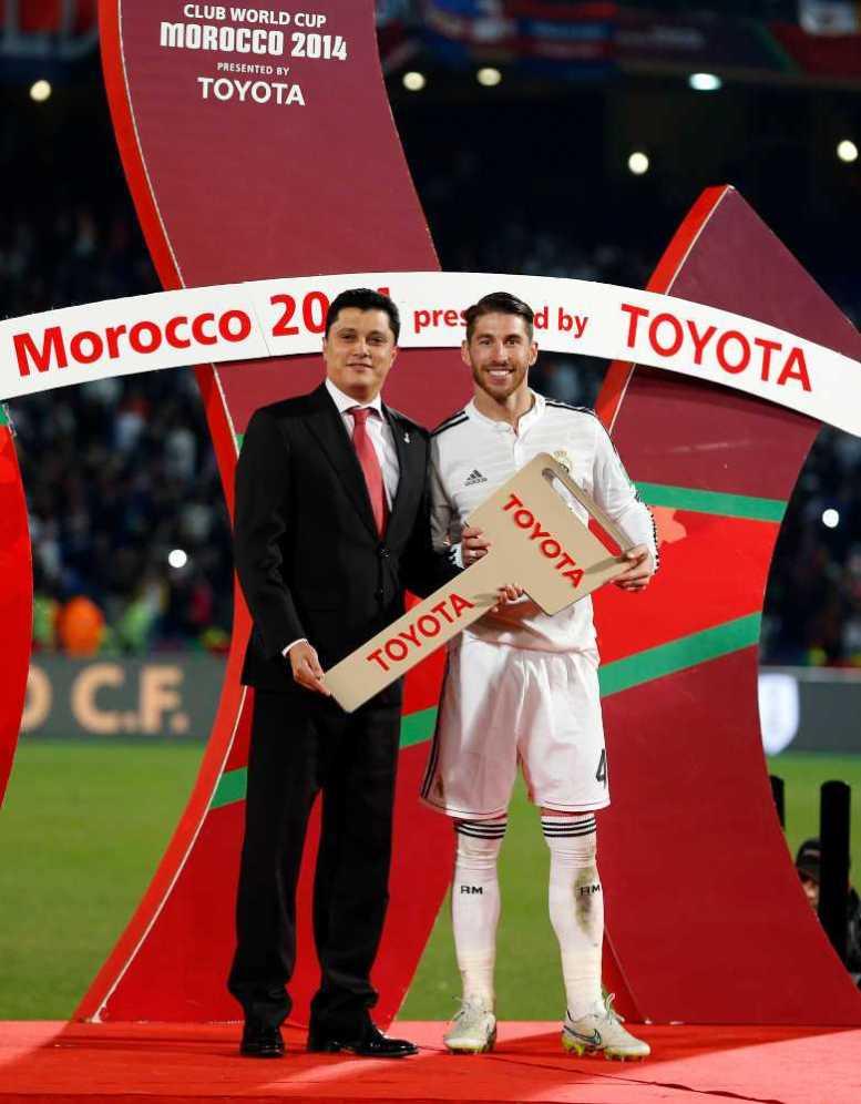 FIFA Club World Cup Marokko 2014: Sergio Ramos (Real Madrid) - Foto: Steve Bardens/Getty Images