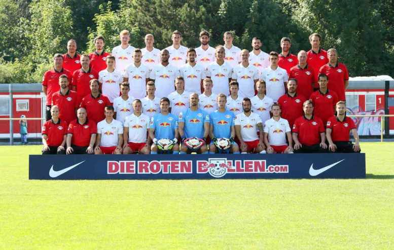 RasenBallsport Leipzig, Team Photo Shooting am 19.07.2014 - Team of RB Leipzig - Foto: GEPA pictures/Roger Petzsche