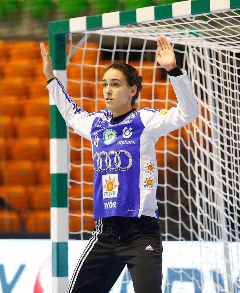 Alexandra Weininger - Foto: Anikó Kovács und Tamás Csonka (Győri Audi ETO KC)