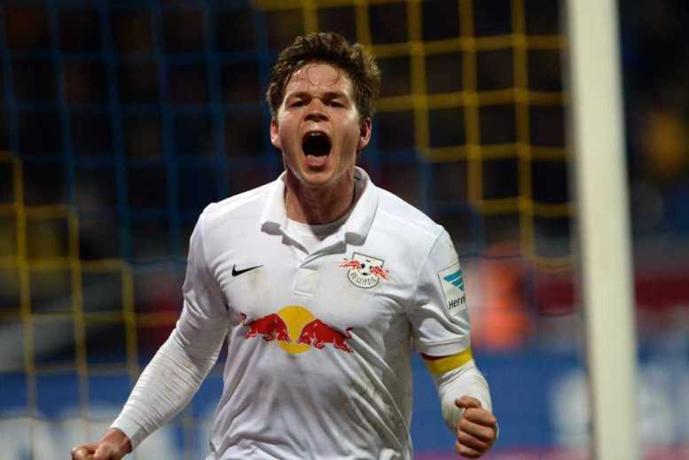 Eintracht Braunschweig vs. RasenBallsport Leipzig - Dominik Kaiser (RB Leipzig) - Foto: GEPA pictures/Citypress24