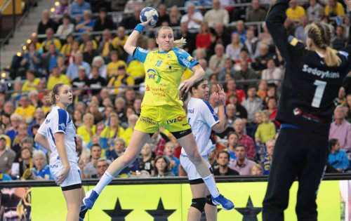 HC Leipzig: Saskia Lang soll in Skopje wieder auflaufen - Foto: Sebastian Brauner
