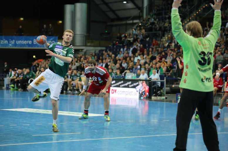Philipp Weber - SC DHfK Leipzig vs. EHV Aue - 11.03.2015 - Foto: Florian Pappert