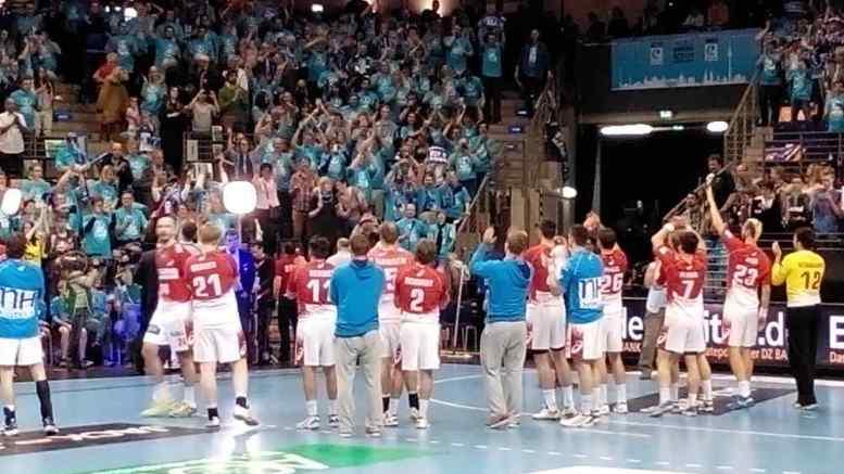"""EHF-Cup Final4: HSV Handball mit """"Matchplayer"""" Johannes Bitter bezwingt Skjern Handbold - Foto: SPORT4Final"""