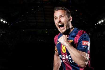 Handball Champions League EHF Final4 2015: Barcelona und Veszprem im Finale - Victor Tomas (FC Barcelona) - Foto: EHF Media